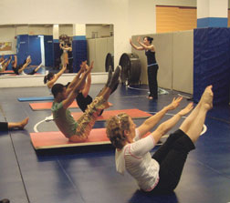 Pilates Mat Class at The Art of Control Pilates Studio in Purchase College