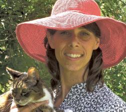Ann LaGoy and friend