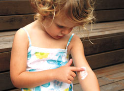 Safe, natural first aid for kids