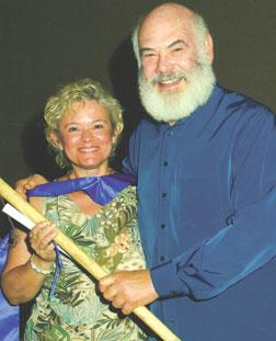 Dr. Minerva Santos & Dr. Andrew Weil